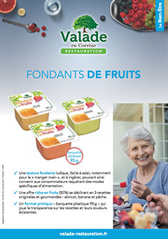 Fondants de Fruits Valade Restauration