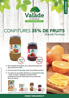 Confiture 35% de fruits - Grand Format