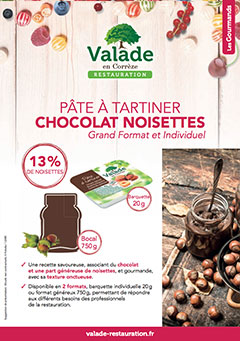 Pâte à tartiner - Valade Restauration