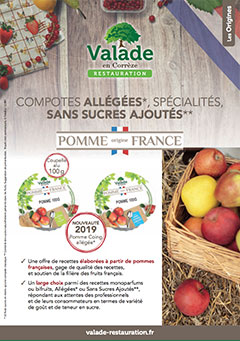 Pomme Origine France - Valade Restauration